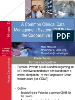 A Common CDMS for the Cooperative Groups