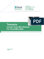 Tanzania Country Scan Microfinance