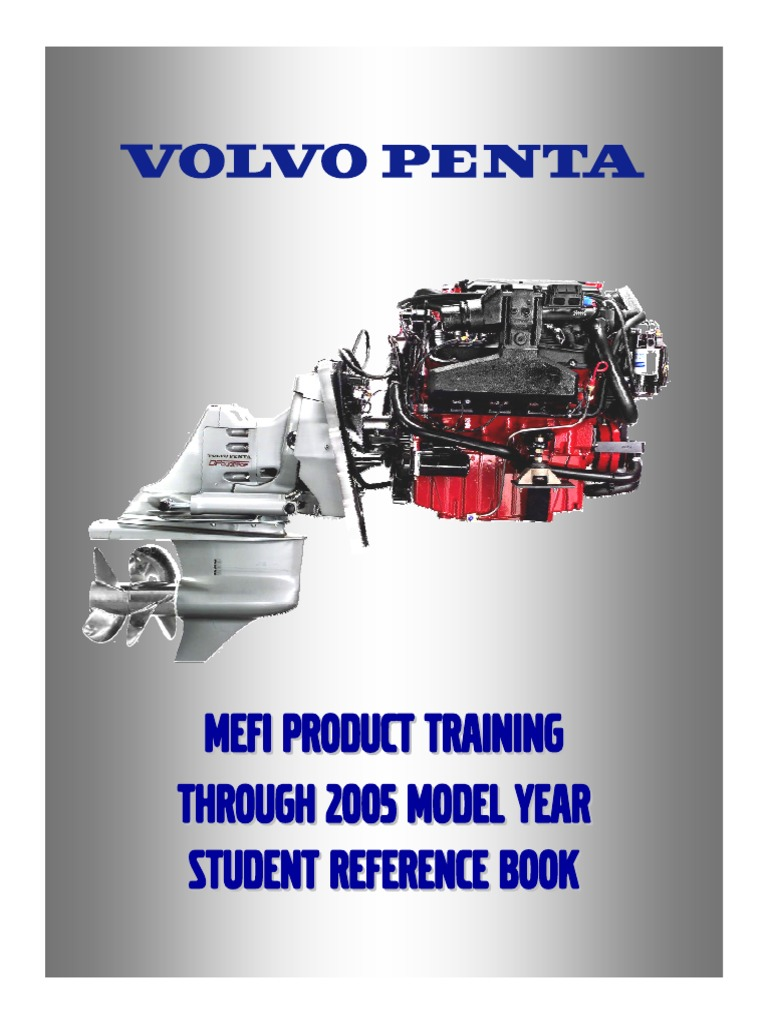 volvo penta mefi product training 2005 student reference book fuel rh scribd com