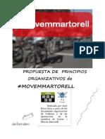 Movem Martorell Propuesta Organizativa de Convergencia
