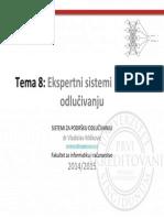 Ekspertni Sistemi i Podrska Odlucivanju