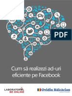 Cum Sa Realizezi Ad-uri Eficiente Pe Facebook