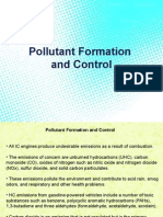 Pollutant Formation and Control