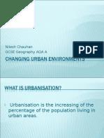 Changing Urban Environments