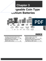 Rechargeable Coin Type Lithium Batteries