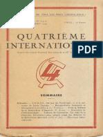 Quatrième Internationale I, Nº 8-9-10, 1944