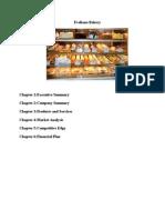 Dessert Bakery Business Plan 1