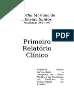 Primeiro Relatorio Clinico