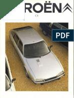 Brochure2739 Citroen Cx 1981 9