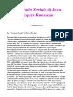Rousseau Contratto Sociale
