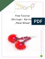 Pattern PrettyNett Earrings PetalWheel