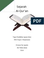Sejarah Turunnya Al-Qur'an
