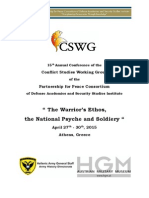 CSWG 2015 Call for Papers - Athens