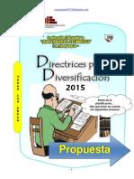 Directrices Programacion Curricular 2015 Jmi