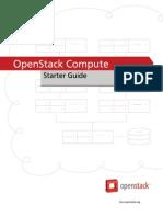 Openstack Starter Guide Cactus