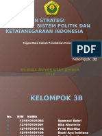 Politik Dan Strategi Nasional (1)