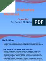 Type I Diabetes Mellitus Presentation 2003