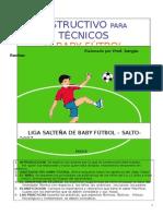 Instructivo Para Baby Fútbol.
