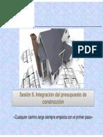 Sesion 9 FSCD Integracion Del Presupuesto de Construccion