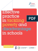 Estyn - Effective Practice in Tackiling Poverty
