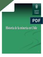 Historia de La Mineria Chilena