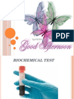 Biochemical Test