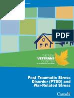 PTSD War Related Stress Disorder