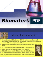Biomateriale in protetica dentara