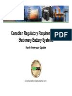02 Bill Ryan - Canadian Regulatory Requirements for Stationary Battery Systems