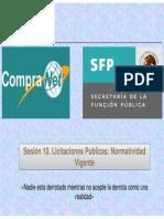 Sesion 10 Licitaciones Publicas