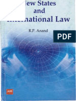 Anand R.P. New States and International Law