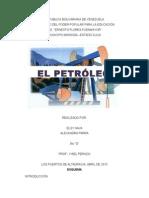 Trabajo Sobre El Petroleo2