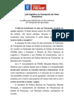 FIEAM discute logística no transporte do Vetor Amazônico