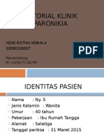 Tutorial Klinik Paronikia