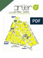 """Les présentations du Conseil de Quartier parisien """"Château d'Eau - Lancry"""" du 05 mars 2015"""