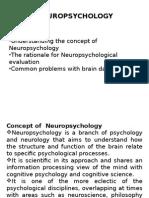 Neuropsychology Module 1 (2)