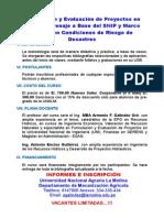 Diptico Curso Snip con Riesgo de Desastres(Agosto 2015)
