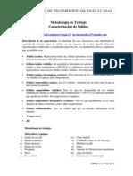 1Metodología de Trabajo - Caracterización de de Solidos