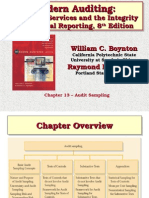 Chapter 13 – Audit Sampling