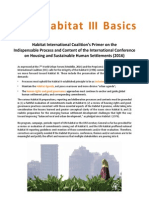 Habitat III Bashics Brief Final