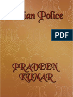INDIAN POLICE - Ensemble of articles on Indian Police