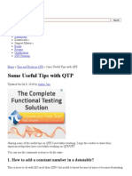 Some Useful Tips With QTP _ Learn QTP (UFT)