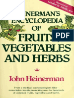 Fruits Vegetables and Herbs