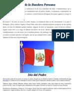 Día de La Bandera Peruana