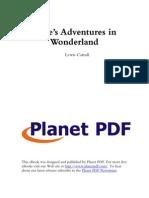 20343010 Alices Adventures in Wonderland T