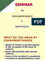 Crash Worthiness