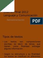 Tipos de Texto y Más