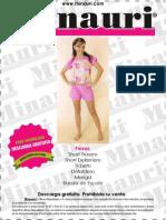 Minauri Pijama en Habil&Dades by Maria Fernanda