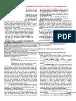 METODOLOGIA DO TRABALHO ACADÊMICO - PARTE I - Prof. Waldemar Neto