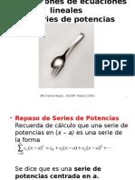 Soluciones de ecuaciones lineales